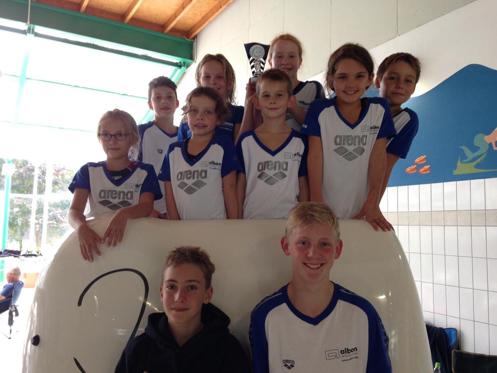 Neptuner Mannschaft Werl 09.2015